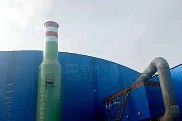 陕西神木北汇3024滚筒煤泥烘干机改造项目