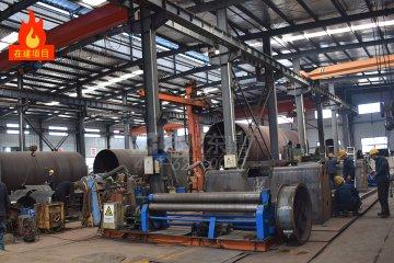 山西怀仁金沙滩20万吨煤泥烘干机项目