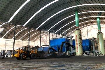 陕西鑫广通煤业90万吨甲醇燃料煤泥烘干机项目