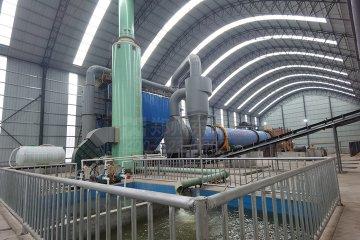 内蒙古恒东集团宏亚煤矿30万吨煤泥烘干机