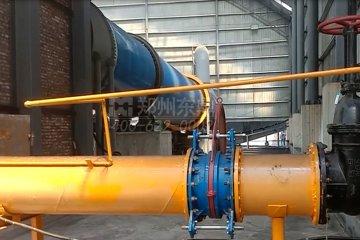 山西吕梁孝义1200吨煤气煤泥烘干机项目